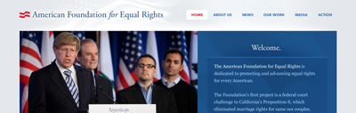American Foundation for Equal Rights featured project
