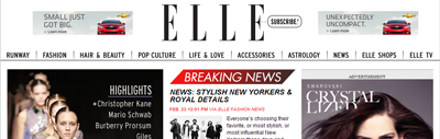 ELLE.com - Website Redesign